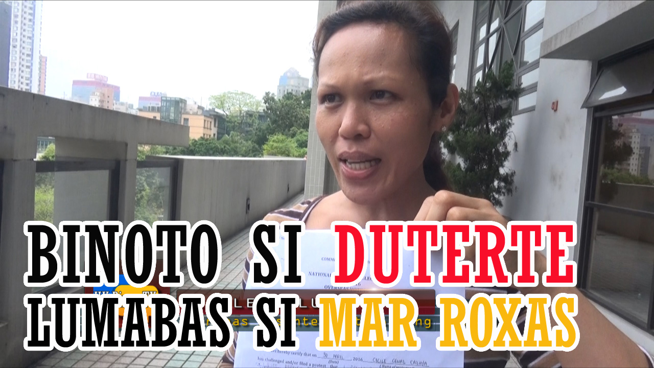Cecile Caluya_Rody Duterte