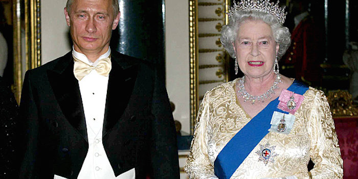 President Putin says that Queen Elizabeth is a shapeshifting reptilian