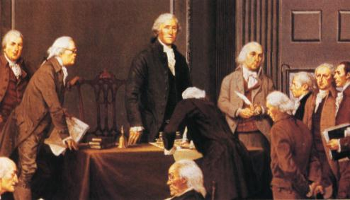 Members of the 1787 Constitutional Convention