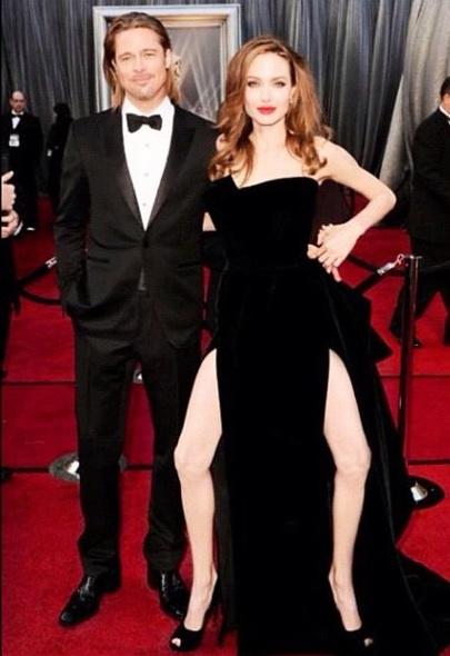 Snapshot taken at the 2012 Oscar ceremonies