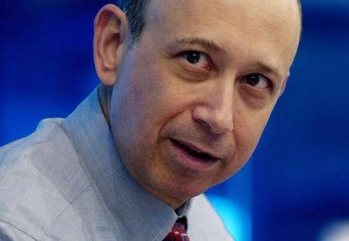 Blankfein, CEO of Goldman Sachs