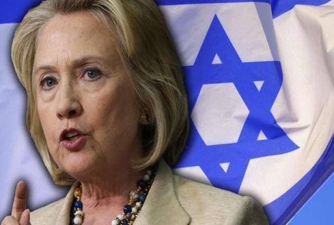 Clinton: Destroy Syria for Israel