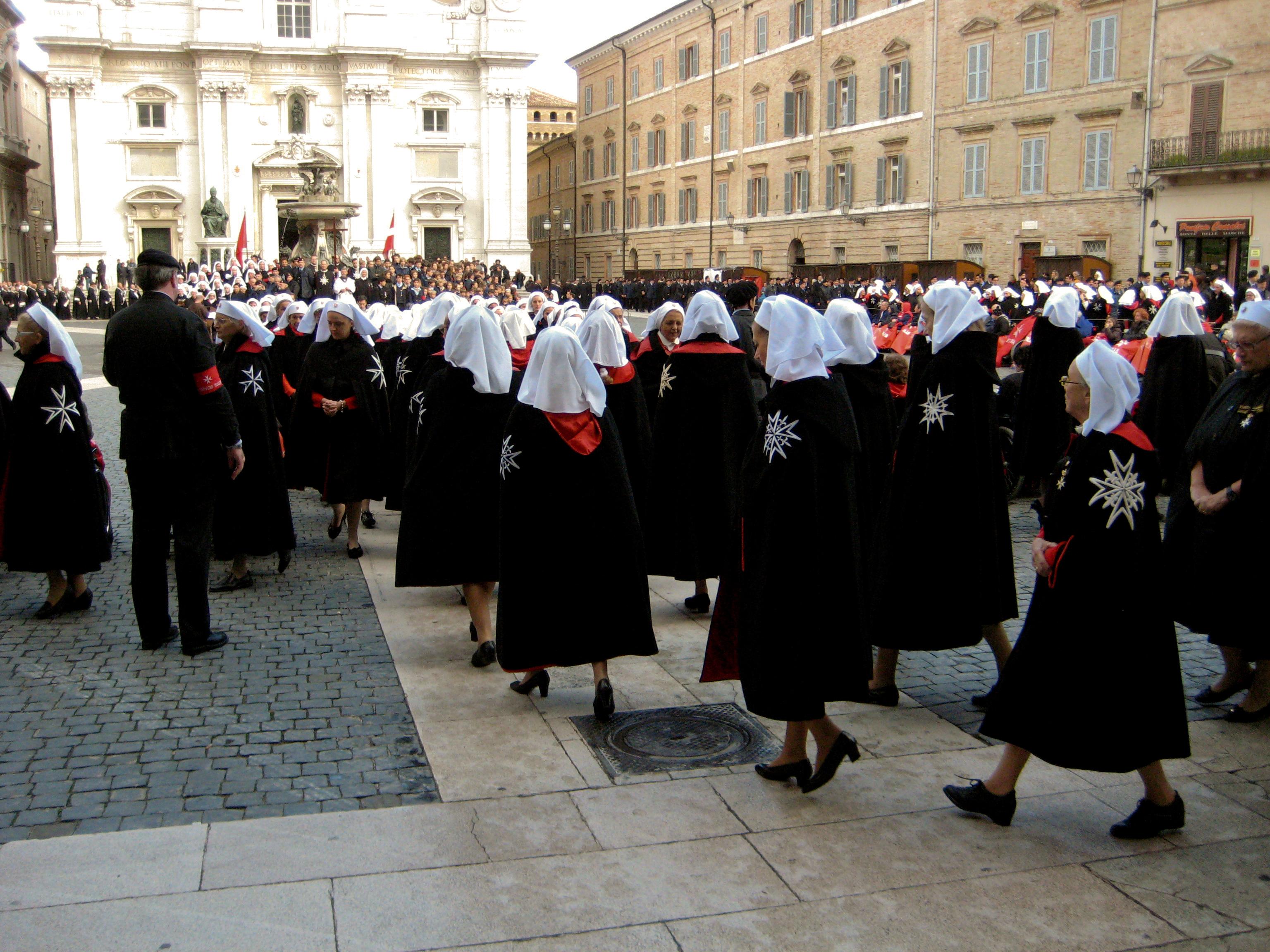 Pellegrinaggio_a_Loreto_2009_-_SMOM