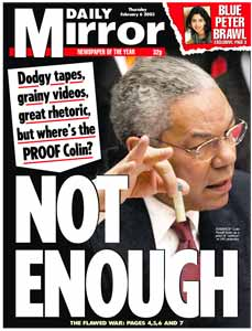 Powell lying for his cabal masters