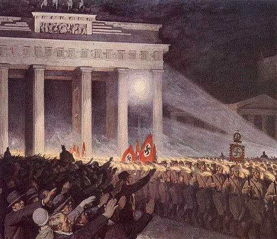 Hitler's seizure of power, 1/30/33