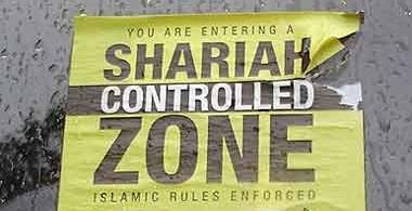 Muslim controlled zone