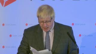 Boris Johnson's Vote Leave speech