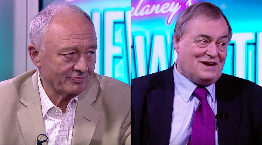 Ken Livingstone, John Prescott © Sam Delaney's News Thing