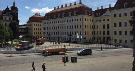 Bilderberg Is Meeting At The Taschenbergpalais Hotel In Dresden