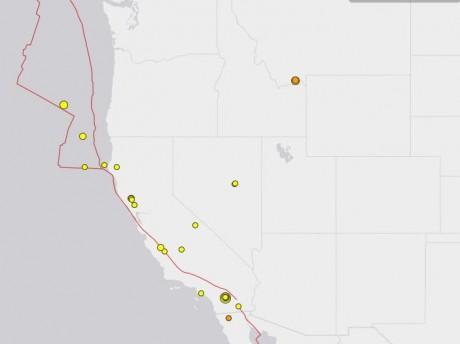 Latest Earthquakes - USGS