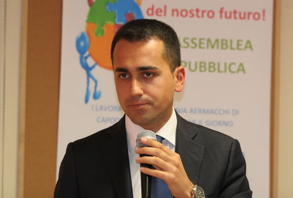 Luigi Di Maio wants a referendum on whether Italy should keep the Euro