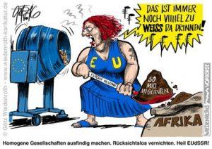 Merkel-Rassenmischung
