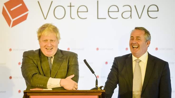 Boris Johnson and Liam Fox.