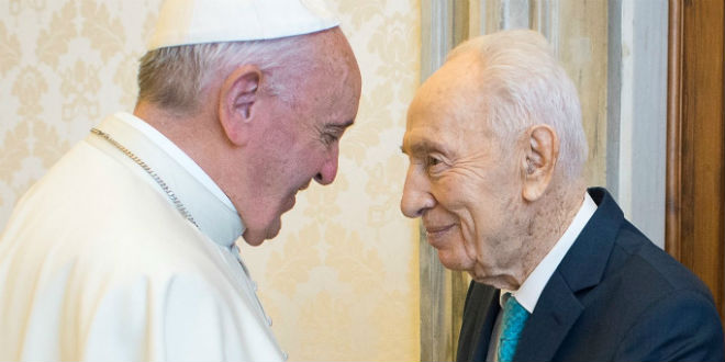 pope-francis-shimon-peres