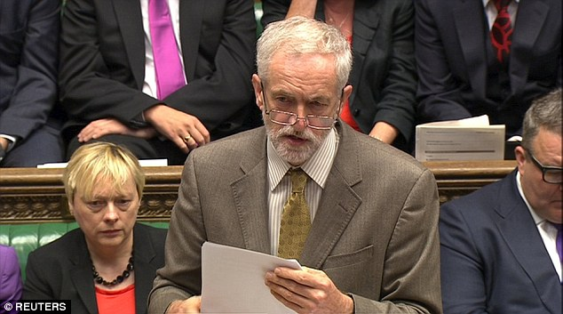 Jeremy Corbyn faced criticism over his appointment of Mr McDonnell during his first stint at Prime Minister's Questions