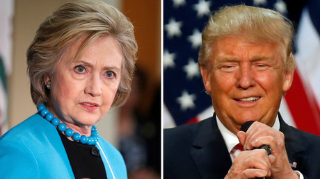 U.S. Democratic presidential candidate Hillary Clinton (L) and Republican U.S. presidential candidate Donald Trump © Lucy Nicholson Jim Urquhart