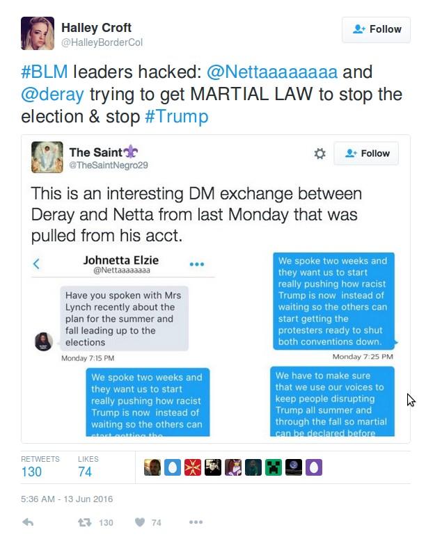 blm martial law