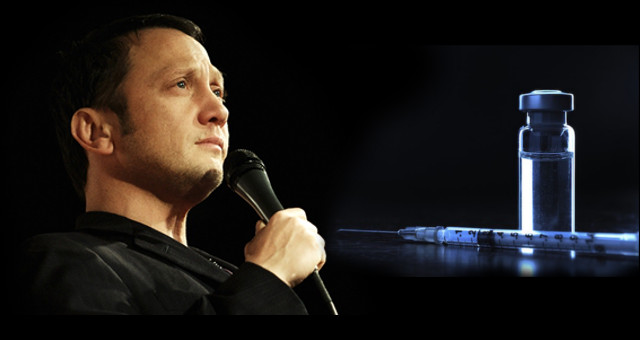 Rob Schneider - Vaccine-Needle-on-Black