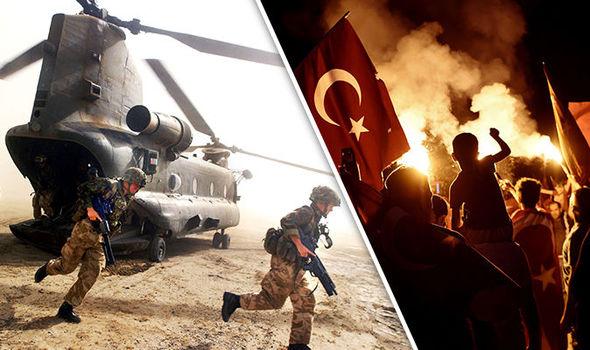 Turkish president, Recep Tayyip Erdo?an crying