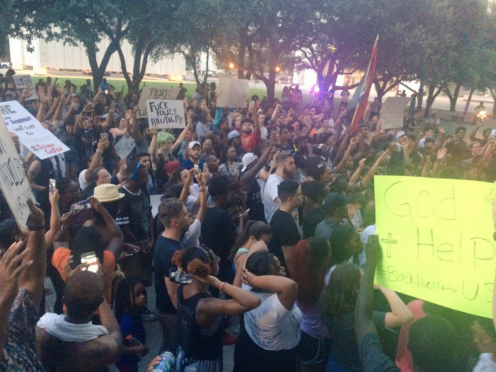 Dallas protest