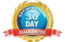 30 Day Satisfaction Guarantee Seal