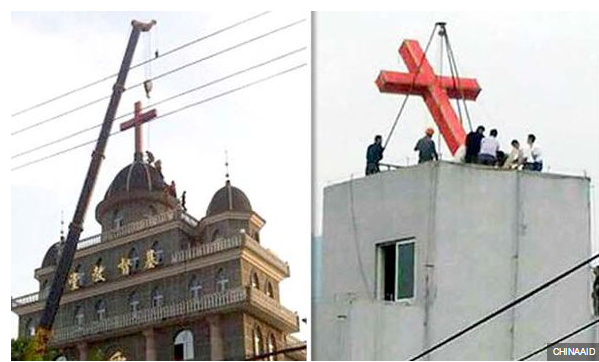 China-cross-removal
