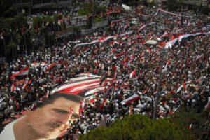 Pro-Assad-demo-wikimedia-Lattakia_20_june_2010