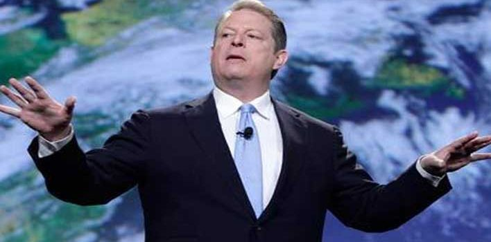 George Soros bribed Al Gore with millions of dollars to lie about global warming