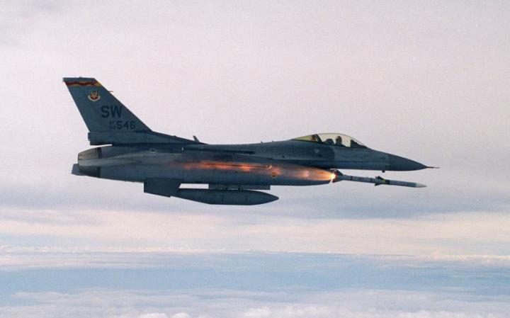 US air force F-16
