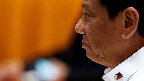 Philippines President Rodrigo Duterte © Soe Zeya Tun