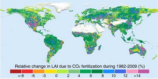 Greening-NASA