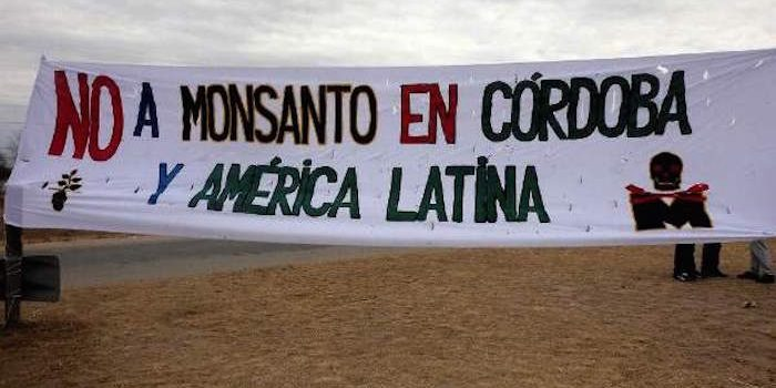 Monsanto have been kicked out of Argentina