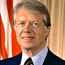 US President Jimmy Carter