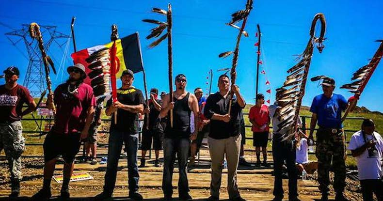 Image result for Protesters Swarm Pipeline Firm After Corps of Engineers Proves Native Americans Were Right