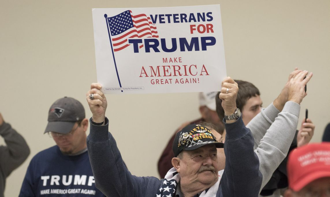 US Military Vets Come Out in Support of Donald Trump