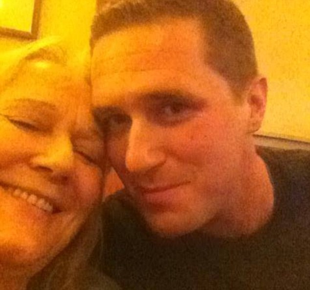 Father-of-two Max Spiers, 39, with his mother Vanessa Bates. He was found dead in Poland