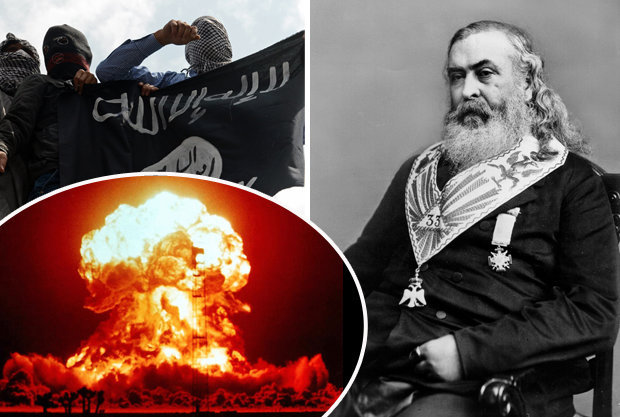 Albert Pike may have predicted World War 3 against Islam