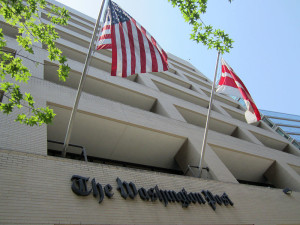 The Washington Post building. (Photo credit: Daniel X. O'Neil)