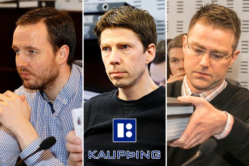 Birnir Sær Björnsson, Einar Pálmi Sigmundsson and Pétur Kristinn Guðmarsson.