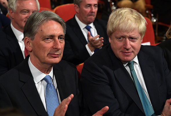Chancellor Philip Hammond will make payments while Boris Johnson campaigned against them