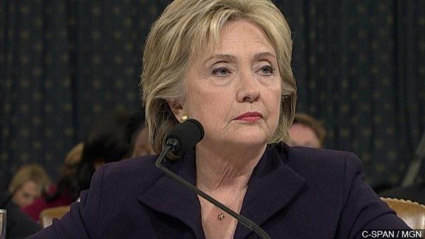 Hillary in HOT WATER AGAIN!!