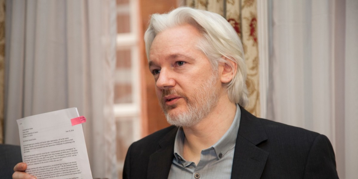 Wikileaks founder Assange reveals his next target: Google