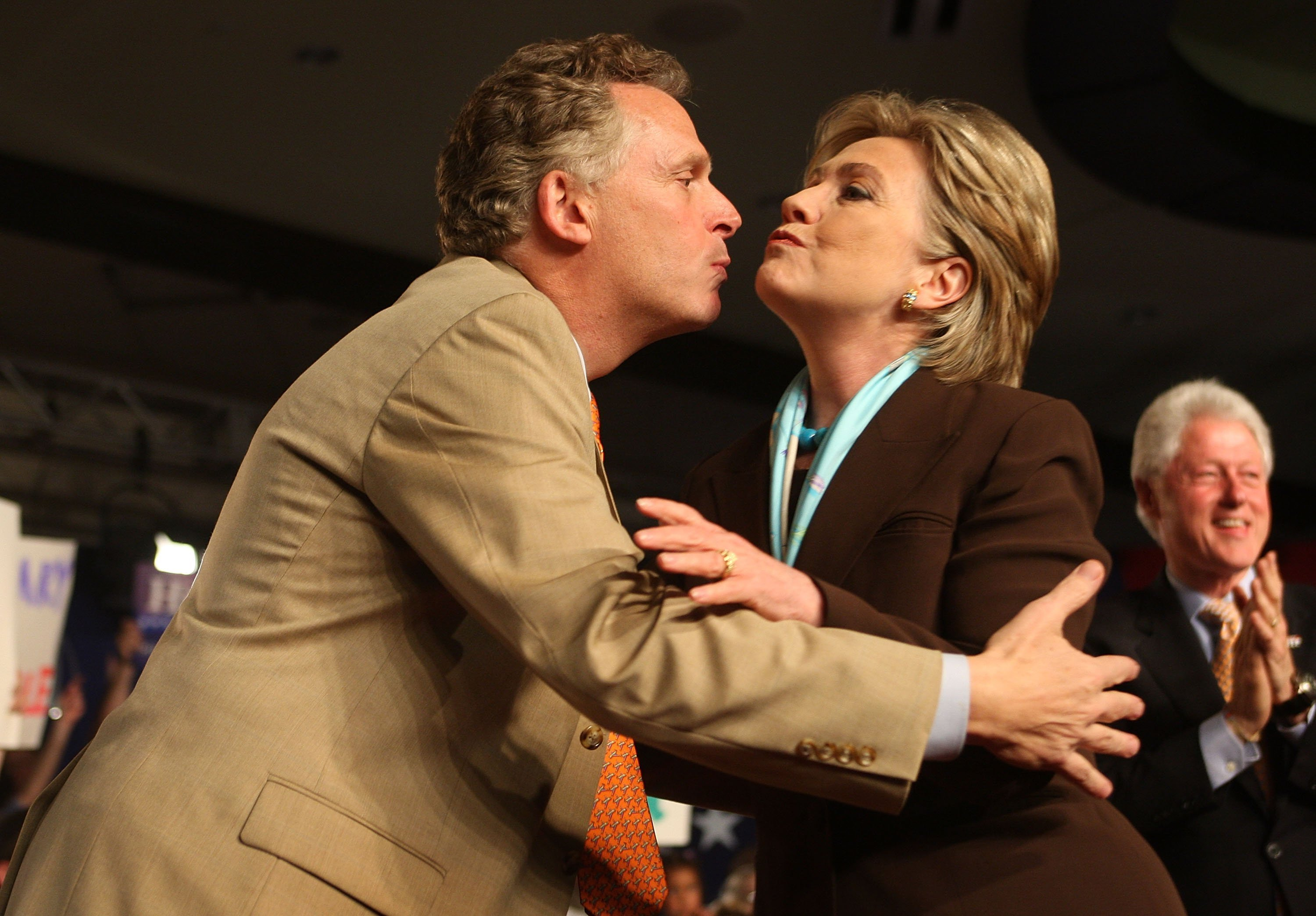 Image result for hillary clinton terry mcauliffe tpp