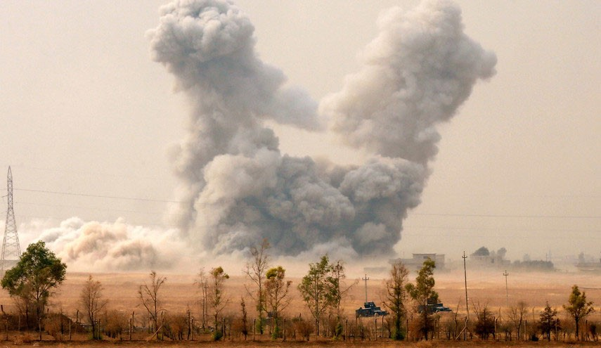 Several Iraqi Soldiers killed by US Airstrike Near Mosul