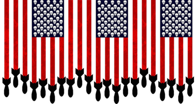 iAMerican Flag Militray Industrial Complex