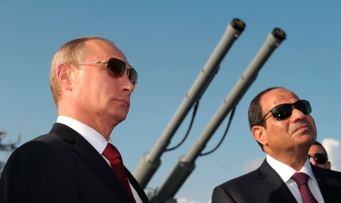 Russia-Egypt Hold Military Exercises: Expanding Middle East Foothold
