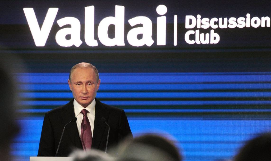 President Putin's Valdai Speech: Obama's Legacy Can Be Rectified