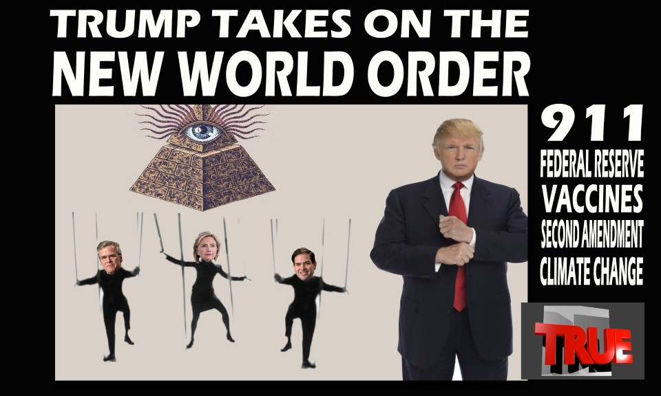 Technology Management Image: Describes The New World Order's Control Of The US