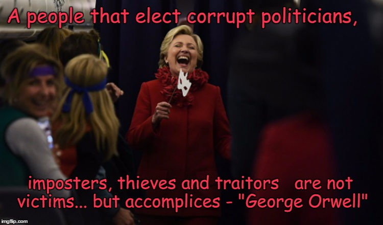 Image result for A people that elect corrupt politicians