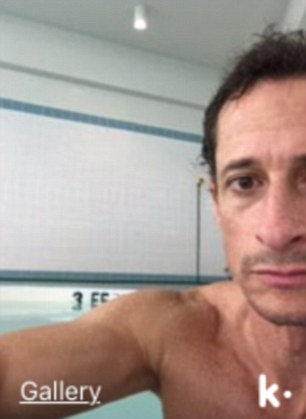 Notorious image: This is the picture Weiner sent a girl, 15, which was part of the DailyMail.com bombshell which prompted the FBI probe